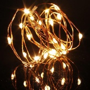 [Starzdeals] 2 Meter 20 Led Battery Operated Christmas Outdoor Fairy String Light ,Warm White