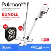 [BUNDLE] PULLMAN M12+ Free HEPA + Free spray mop
