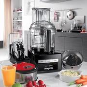 MAGIMIX 萬用食物處理機-3200L (贈冷壓蔬果機、電子料理秤、活性碳長鮮盒) 時尚黑