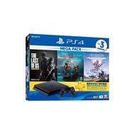 PS4主機 新款式薄型化 Slim 型 1TB容量 經典大作同梱組 最後生還者 戰神 地平線期待黎明【魔力電玩】