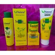 ❤️temulawak_original❤️ Temulawak Package (day night cream, serum gel, whitening toner, whitening serum)