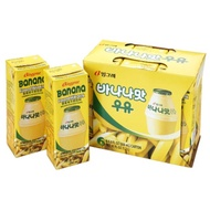 韓味不二 韓國熱銷 BINGGRAE香蕉牛奶(200ml*24瓶)