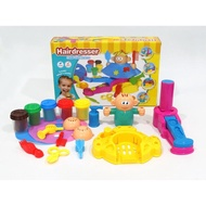 (現貨)黏土玩具 黏土 黏土工具 膜具 理髮遊戲 聖誕禮物 生日禮物 禮物 交換禮物 剪髮遊戲 培樂多
