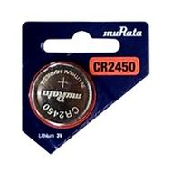 【史代新文具】muRata CR2450鈕扣電池3V