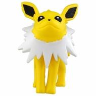 〔小禮堂〕神奇寶貝Pokémon 雷伊布 迷你塑膠公仔玩具《黃》寶可夢公仔.模型