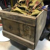 老美品早期老木箱老件/中美合作時期