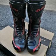 EXUSTAR E-SBR2101-BKRD 車靴 防摔車靴
