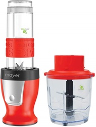 [Home] Mayer MMBC19 2 in 1 Blender and Chopper, Red