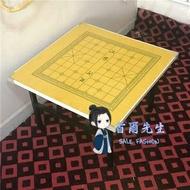 象棋桌 家用折疊多功能餐桌現代簡約學生戶外地桌矮桌便攜正方擺攤T