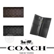 本週特價 COACH 74599 男士 防刮長夾 錢包 多卡位 時尚休閒