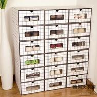 5個防水鞋盒收納抽屜式整理箱鞋櫃紙箱