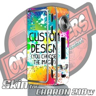 Charon TC 218w / Adjustable Custom Skin Wrap Cover by Oddstickers