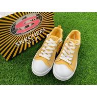 Skechers 帆布鞋#軟底#74370YEL