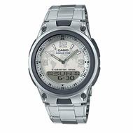 CASIO 10年電力地圖雙顯腕錶/AW-80D-7A2DR