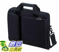 [107東京直購] ELECOM 13.3吋 衝擊吸收 手提公事包/側背包 黑色