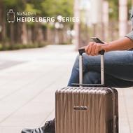 【NaSaDen 納莎登】【海德堡】 【28吋】鋁框行李箱/登機箱,4色可選 德國品牌NaSaDen納莎登拉鍊款行李箱
