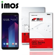 【iMos】HTC U11 PLUS(3SAS 疏油疏水 螢幕保護貼)