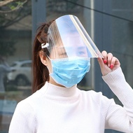 Protective Face Shield Transparent Anti Droplet Dust-proof Protect Full Face Covering Mask Visor Shield