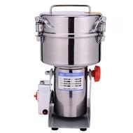 220V睿核不銹鋼2000克大型打粉機超細研磨機中藥粉碎機商用電動磨粉機