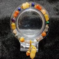 金田黃手珠 8mm 漂亮的手珠