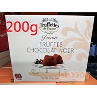 法國 Truffettes de France 70% 松露巧克力 200g 黑巧克力 dark chocolate
