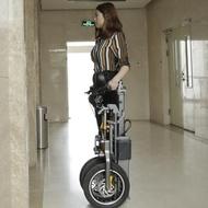 簡行 倒三輪電動代步車 摺疊式接送小孩便捷可拉行親子電瓶自行車  婷家生活館