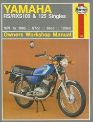 Haynes Yamaha Rs/Rxs100 and 125 Singles Owners Workshop Manual