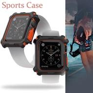 เคสป้องกันสำหรับApple Watch,เคสกรอบโลหะป้องกันสำหรับApple Watch 42มม. Series 1 2 3สำหรับApple Watch 4 5 6 SE 44มม. เคสกันกระแทก