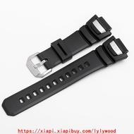 【品質好貨】卡西歐G-SHOCK手表配件GS-1000J/1001/1010/1050黑色樹脂表帶