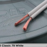 Ready Stock Qed Classic 79 White Speaker Cable Per Meter