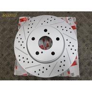 慶聖汽車 英國FERODO原廠尺寸劃線打孔煞車碟盤 現代 ELANTRA IX35 SANTAFE