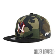 【New Era】MLB NY 紐約 洋基 叢林迷彩 雙色棒球帽 9FIFTY 街頭 潮流【ANGEL NEW ERA】