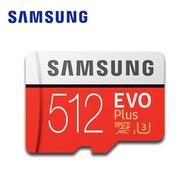 SAMSUNG 三星 EVO Plus microSDXCUHS-1(U3) Class10512GB記憶卡