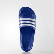 ADIDAS Duramo Slide 拖鞋 男鞋 女鞋 一體成型 防水 藍 白 【運動世界】 G14309