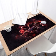HD design Durable Rubber Attack On Titan Mouse Mat Large game Gaming Mouse Pad