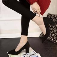 รองเท้าคัชชูหัวแหลมส้นสูงผู้หญิง รองเท้าส้นสูงแฟชั่นขายดี รองเท้าคัชชูส้นสูง สีเทา / สีดำ / สีแดง No.F077