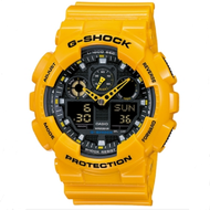 Casio G-Shock นาฬิกาข้อมือ Rubber รุ่น Ga-100A-9Adr (Bumblebee Limited Edition) (Yellow)