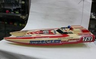 【統一模型】遙控電動船《KYOSHO_HURRICANE雙馬逹-高速賽船》原價$8000★特價$6400★