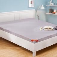 CASA 雙人加大摺疊式加厚彈力棉床墊 182 x 190 x 8 公分