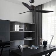 將財吊扇 風扇 工業風 現代風 台灣製 52吋 DC省電馬達 直流變頻 附遙控 黑古銀 永光照明 DC12-569