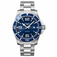 LONGINES浪琴錶 L38414966 HydroConquest 深海征服者浪鬼機械腕錶/藍面44mm