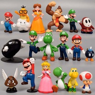 [Comebuy88] 18 PCs Super Mario Mini Figure ของเล่นน่ารัก