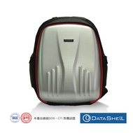 【Datashell】宰相硬殼15.6吋筆電後背包(銀色)