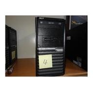 降價出清--自售宏碁ACER 桌上型電腦 Acer Veriton M490 Ci5-660 4核心