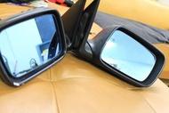 ~三重長鑫車業~正 BMW 原廠 E46 328 COUPE 雙門專用 九線後視鏡一對 防眩~記憶~電動摺疊~