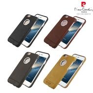 [ iPhone6/6s Plus ] Pierre Cardin法國皮爾卡登5.5吋俐落簡約開窗真皮手機殼/保護殼/皮套
