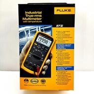美國Fluke 87-V 875 工業用真有效值數位萬用表 [公司貨] 解決馬達驅動及電器的電壓和頻率測量