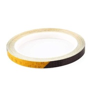 Reflective Tape Fluorescent Mtb Bike Bicycle Mtb Reflective Stickers Adhesive Tape Bicycle Stickers Bicycle Accessories