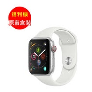 福利品_Apple Watch Series 5 LTE 不鏽鋼 44mm 白運動 - 全新未使用
