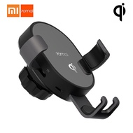laday love Original Xiaomi 70mai Midrive Car Charger QI Certification Car Phone Holder 10W Fast Wire